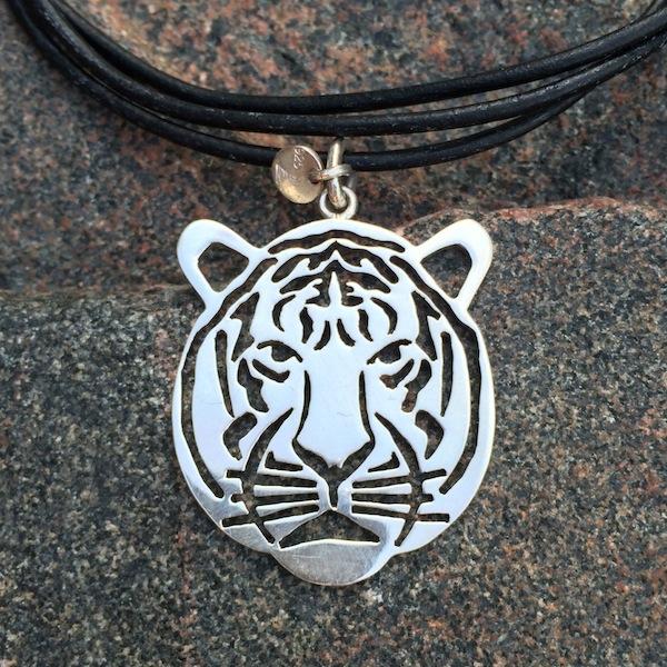 Tiger vedhæng, stort